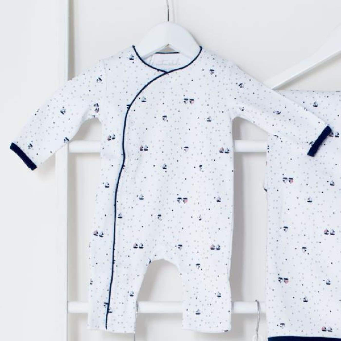 Emotion & Kids Crossover - Yachts Prem 0-3M - BABY & TODDLER CLOTHING - BODYSUITS/SETS/MIX-MATCH