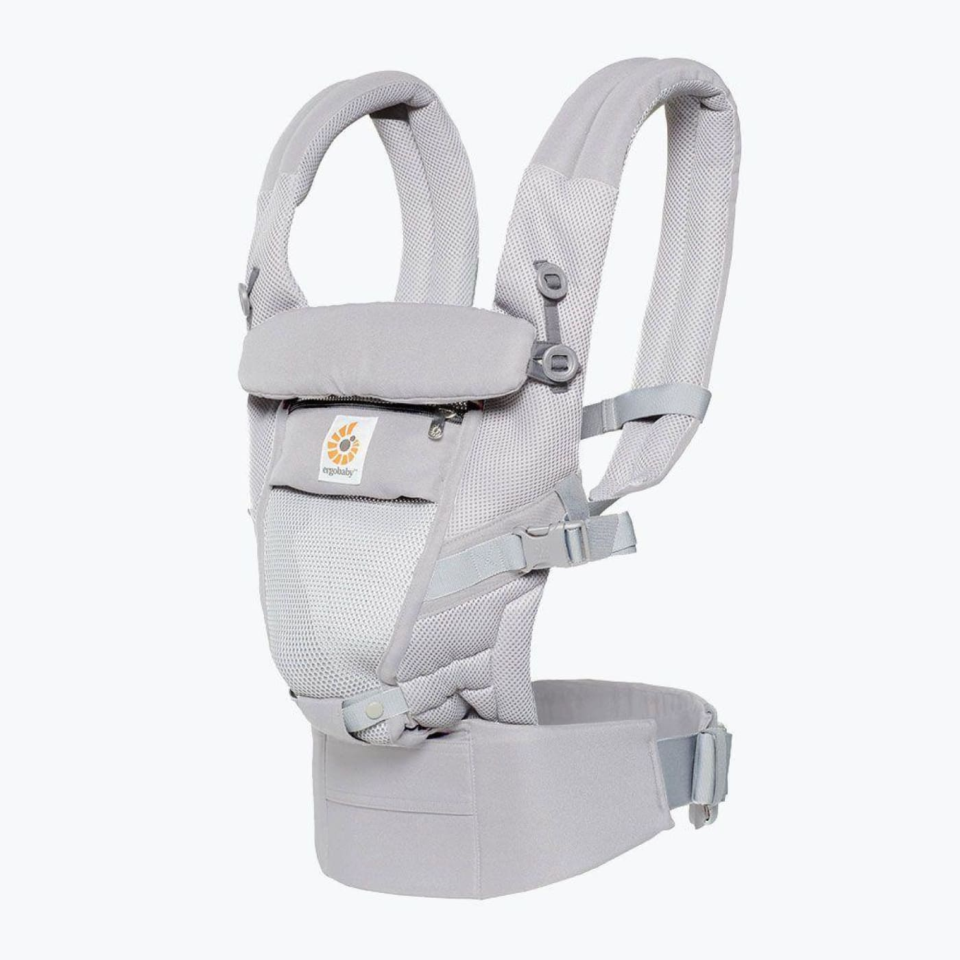 Ergobaby Adapt Cool Air Mesh Carrier - Pearl Grey - ON THE GO - BABY CARRIERS/SLINGS