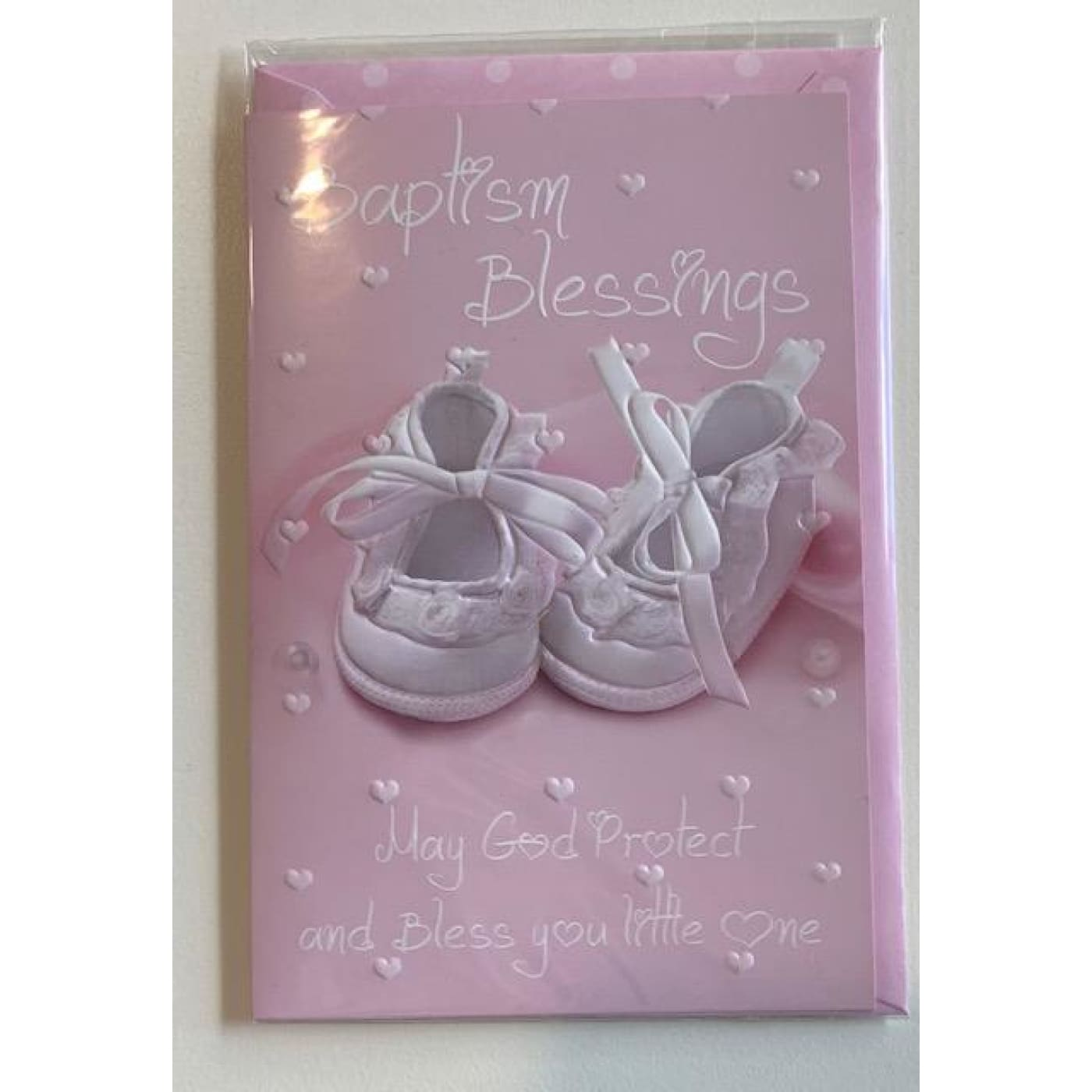 Gatto & Co Baptism Card - Girl - Girl - GIFTWARE - CARDS