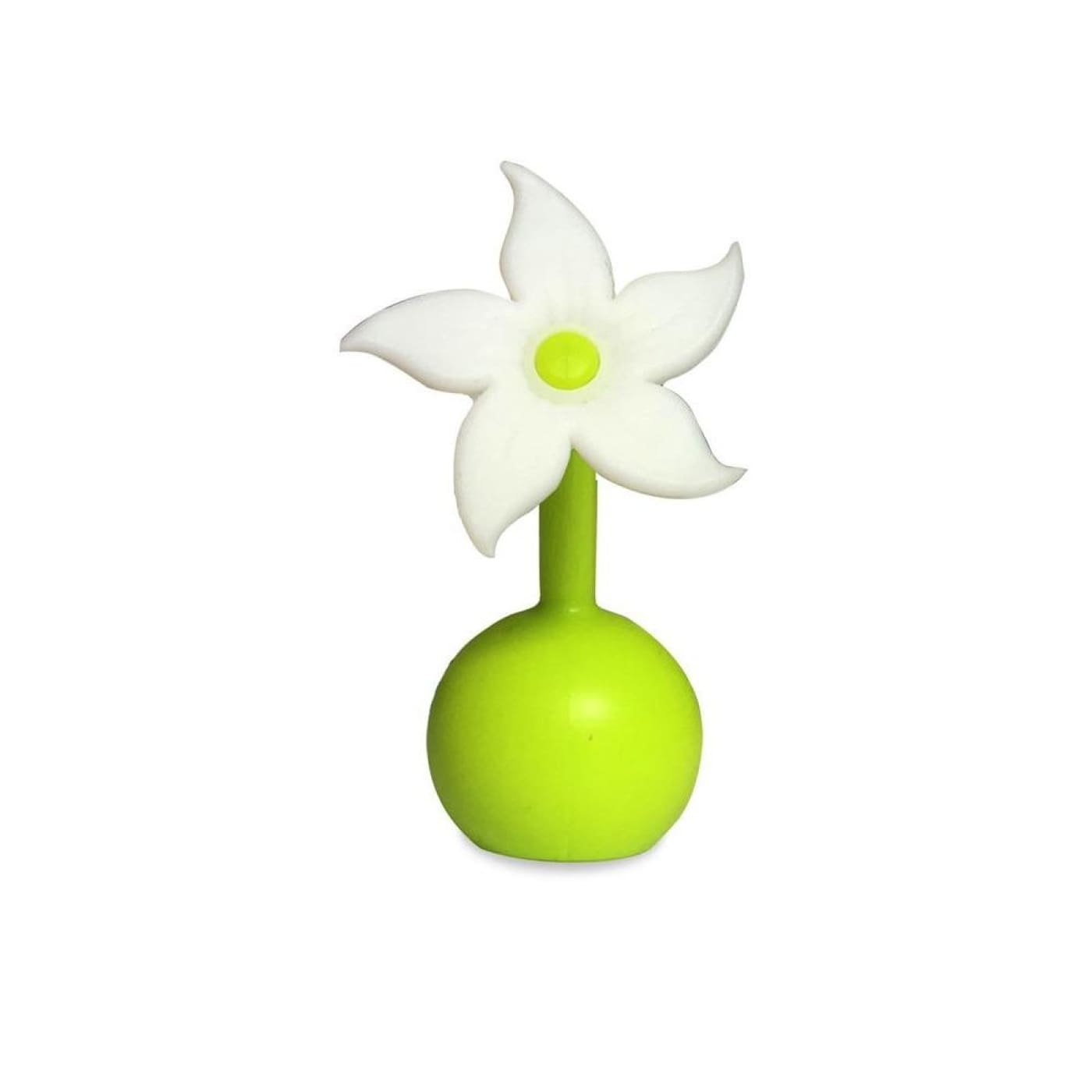 Haakaa Silicone Breast Pump Flower Stopper - White - NURSING & FEEDING - BREAST PUMPS/ACCESSORIES