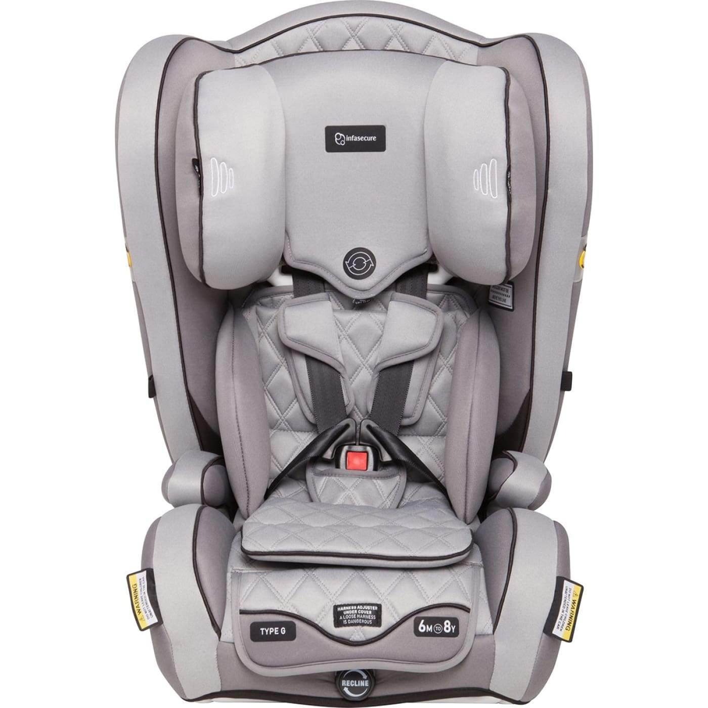 InfaSecure Accomplish Premium Harnessed Booster 6M-8YR - Day - CAR SEATS - HARNESSED BOOSTERS (6M-8YR)