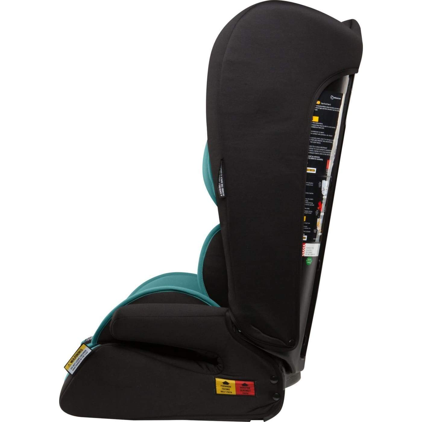 InfaSecure Astra Comfi Convertible Booster 6M-8YR - Aqua - CAR SEATS - CONV BOOSTERS (6M-8YR)