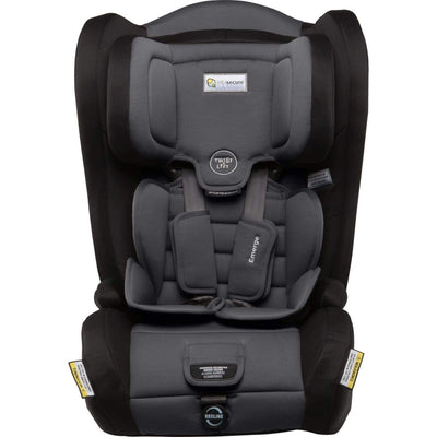 InfaSecure Astra Emerge Harnessed Booster 6M-8YR - Grey - CAR SEATS - HARNESSED BOOSTERS (6M-8YR)