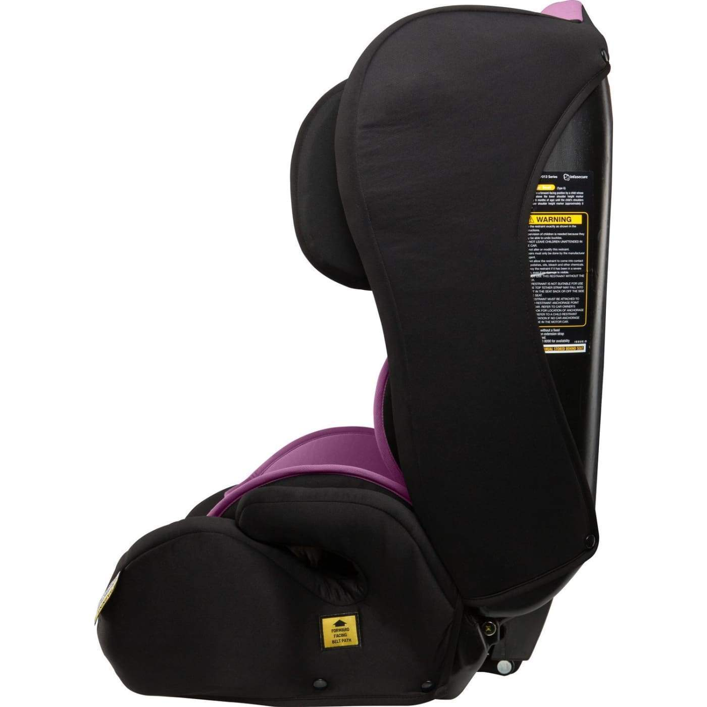 InfaSecure Astra Emerge Harnessed Booster 6M-8YR - Purple - CAR SEATS - HARNESSED BOOSTERS (6M-8YR)