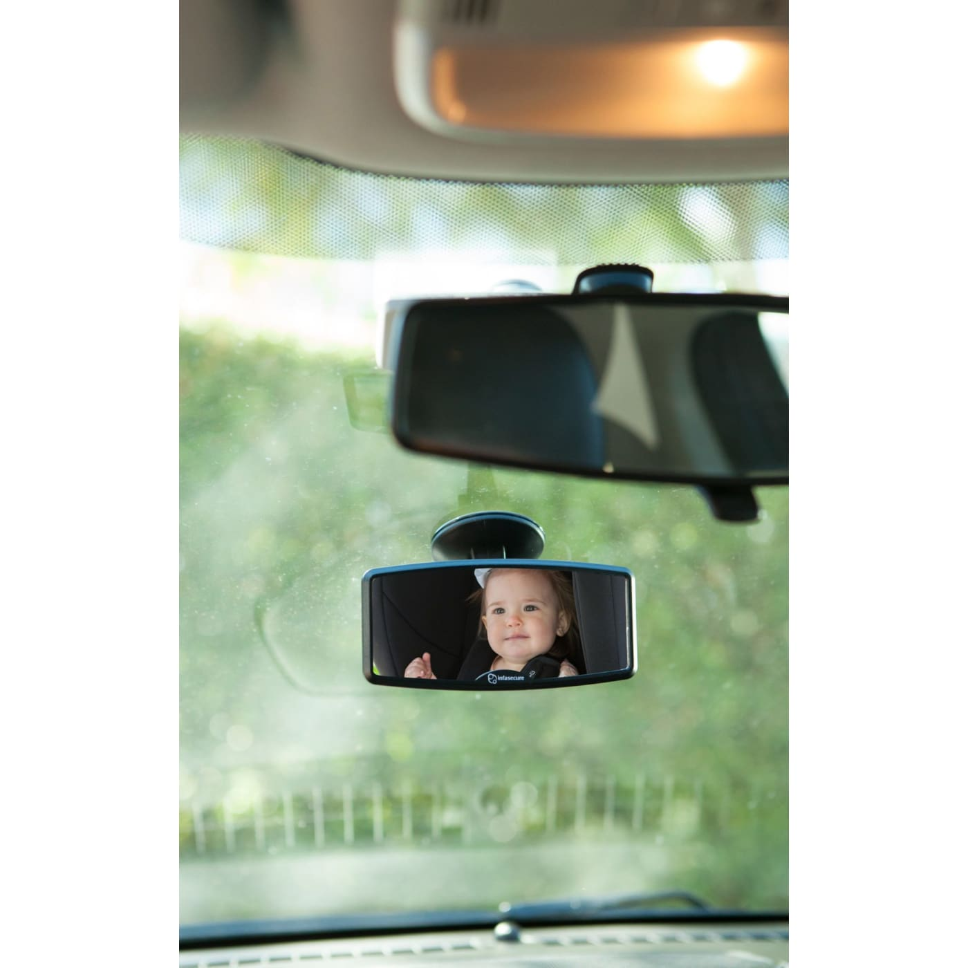 InfaSecure Mini Windscreen Mirror - CAR SEATS - SEAT PROTECTORS/MIRRORS/STORAGE