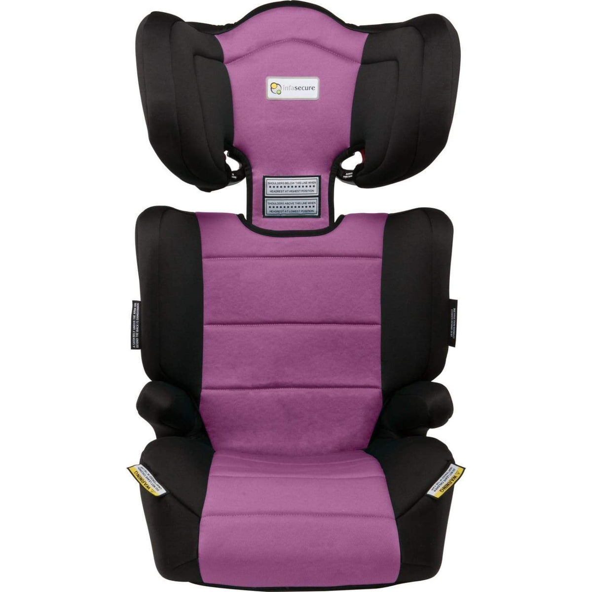 InfaSecure Astra Vario II Booster 4-8YR - Purple - CAR SEATS - BOOSTERS (4-8YR)