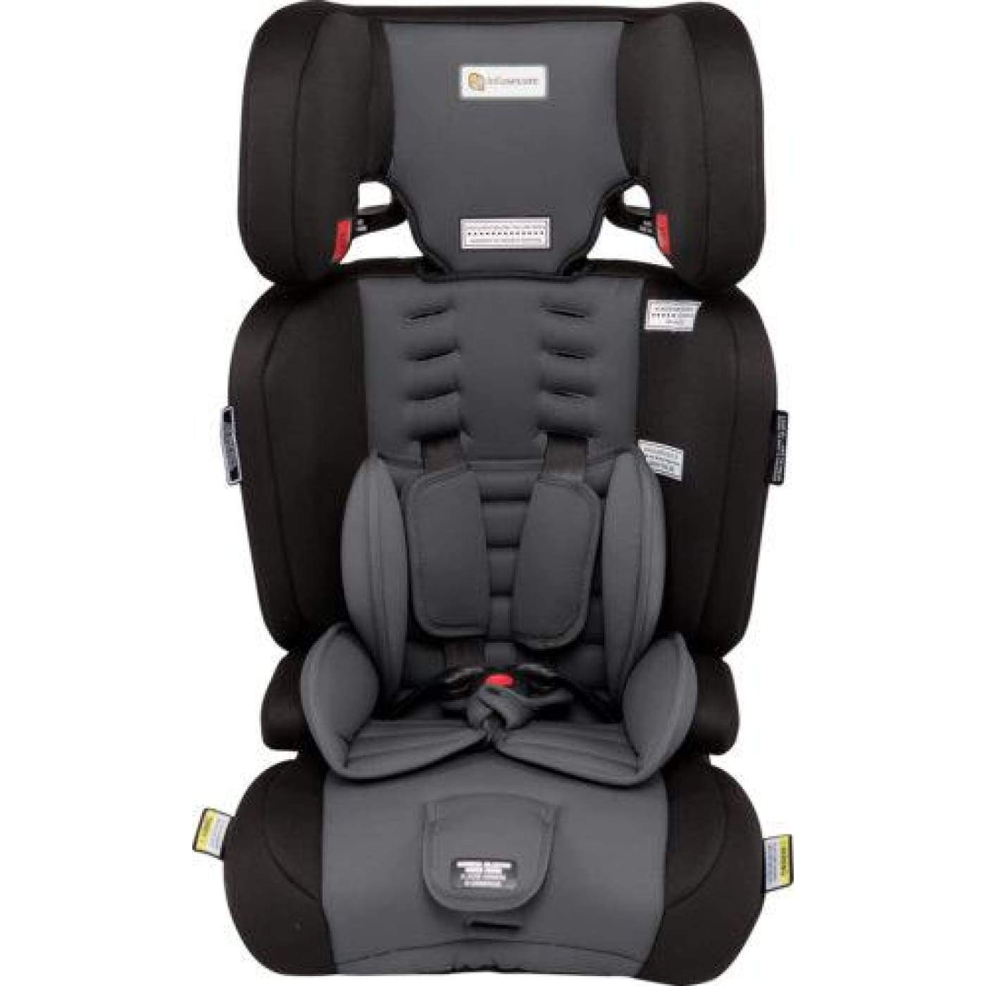 InfaSecure Visage Astra Convertible Booster 6M-8YR - Grey - CAR SEATS - CONV BOOSTERS (6M-8YR)