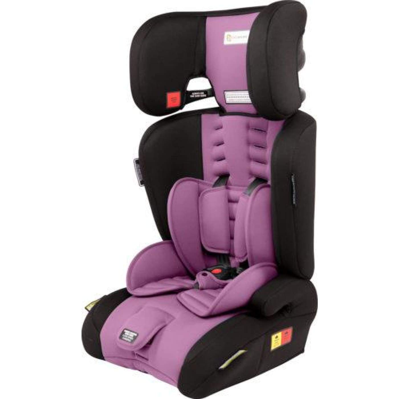 InfaSecure Visage Astra Convertible Booster 6M-8YR - Purple - CAR SEATS - CONV BOOSTERS (6M-8YR)