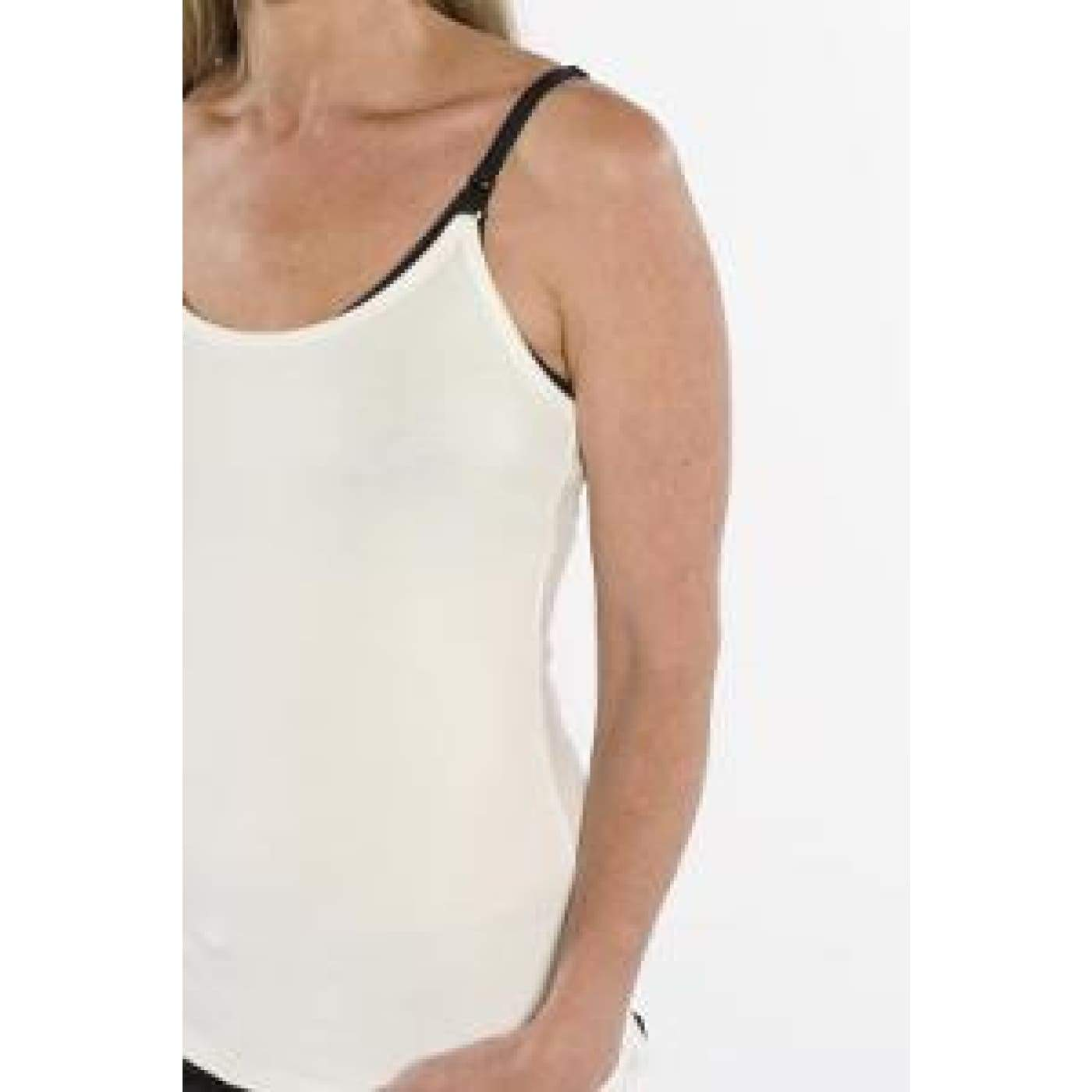 Inspired Mother Nursing Cami - XS White - Maternity Bras Cami Tops & Underwear