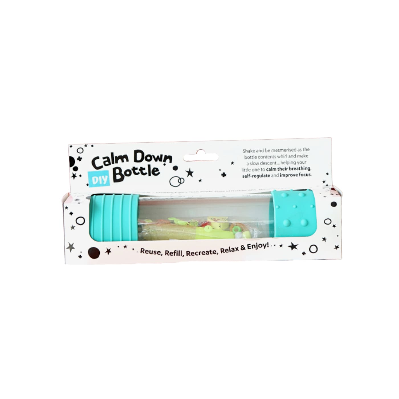 Jellystone DIY Calm Down Bottle - Mint - Mint - NURSING & FEEDING - TEETHERS/TEETHING JEWELLERY