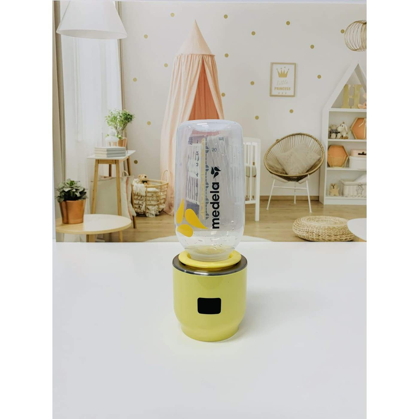Jiffi Medela/Dr Browns/Pigeon Narrow Neck Adaptor - Yellow - Yellow - NURSING & FEEDING - BOTTLE ACCESSORIES