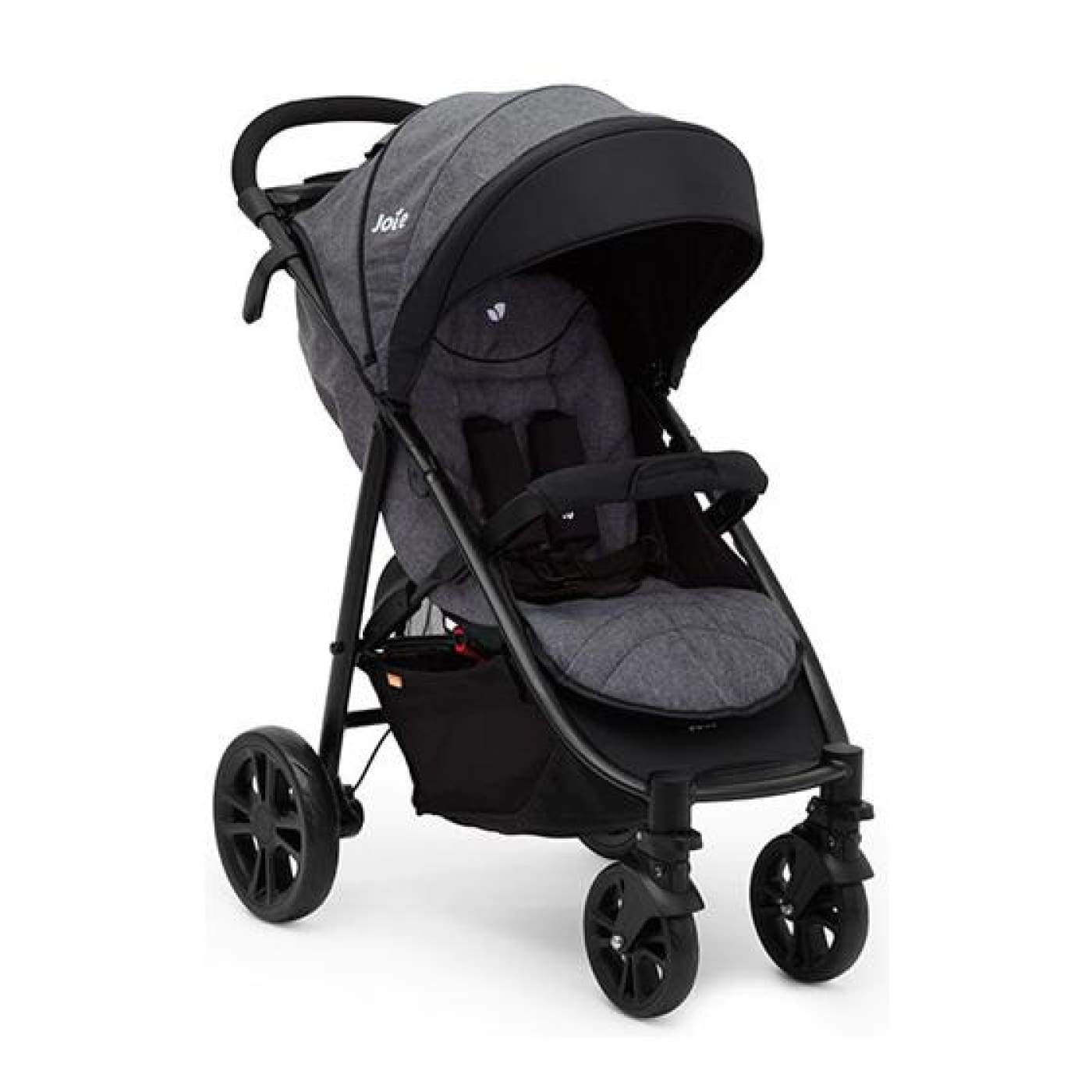 Joie Litetrax 4 Travel System - Chromium - (ETA March) - PRAMS & STROLLERS - 4 WHEEL TSC