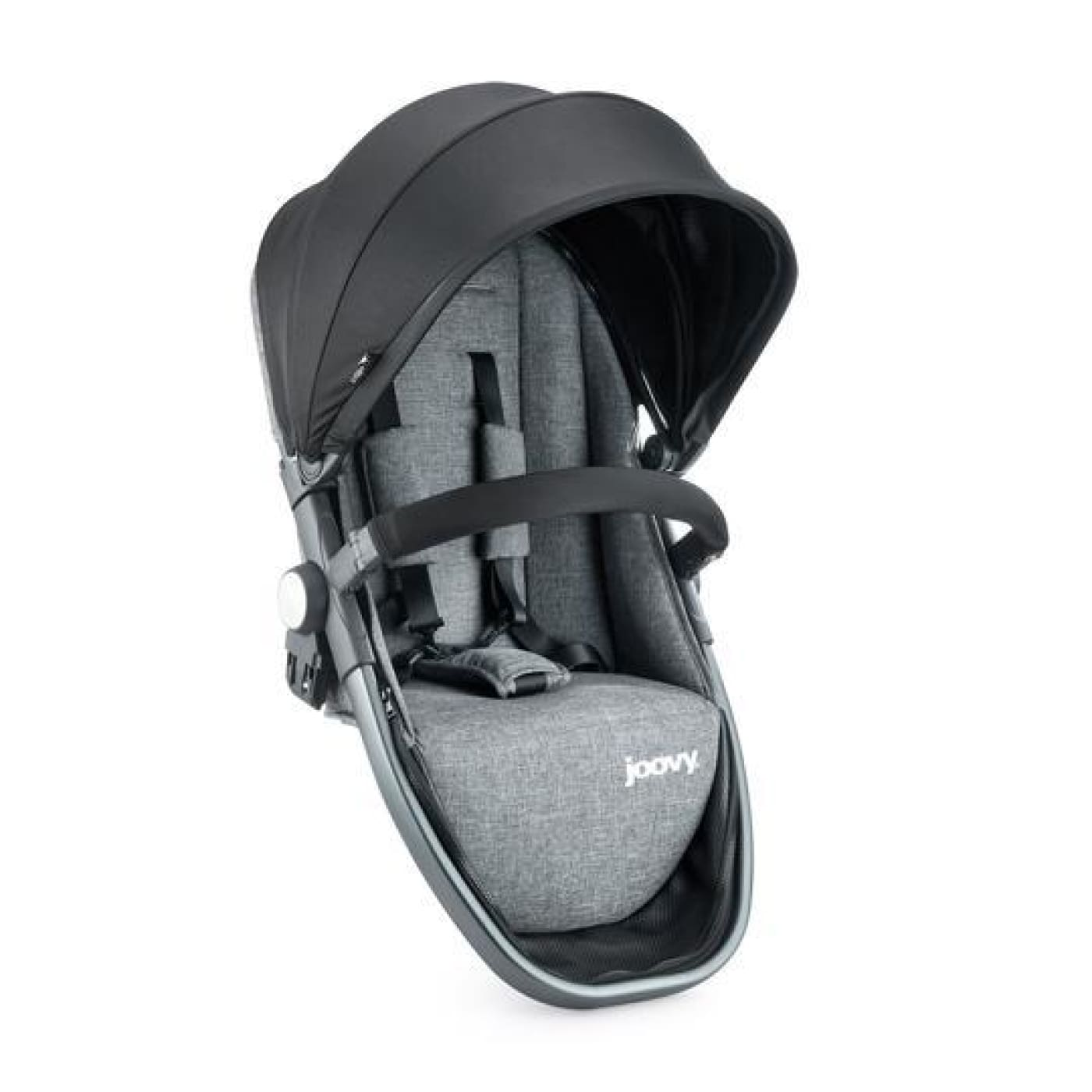 Joovy Qool Second Seat - Grey Melange - Grey Melange - PRAMS & STROLLERS - TODDLER SEATS/CONVERSION KITS