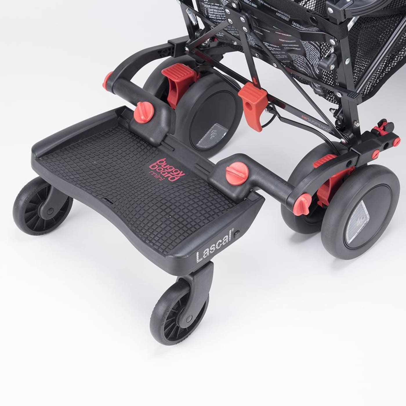Lascal Buggy Board Mini 3D - Black - Black - PRAMS & STROLLERS - SKATE BOARDS