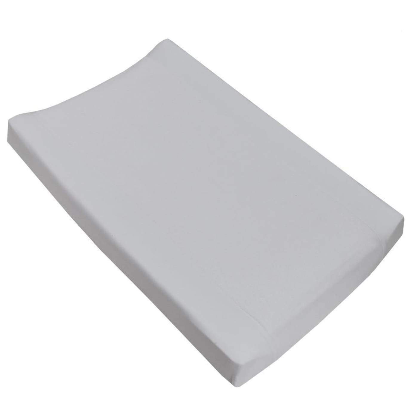 Living Textiles Change Pad Cover Jersey/Towelling - White - BATHTIME & CHANGING - CHANGE MATS/COVERS