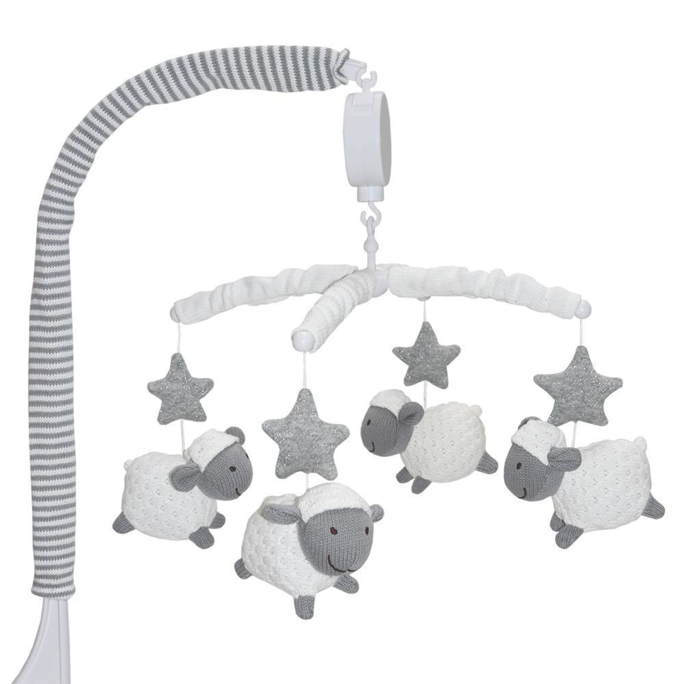 Living Textiles Musical Mobile Set - Sheep - NURSERY & BEDTIME - MOBILES