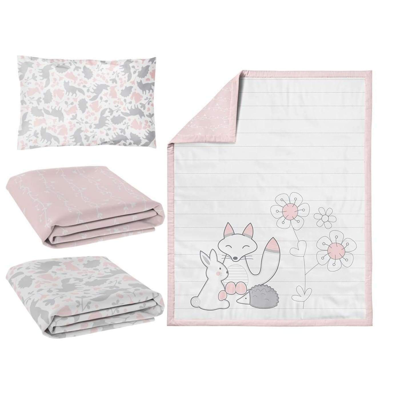 Living Textiles Nursery Set 4PC - Forest Friends - NURSERY & BEDTIME - COT MANCHESTER