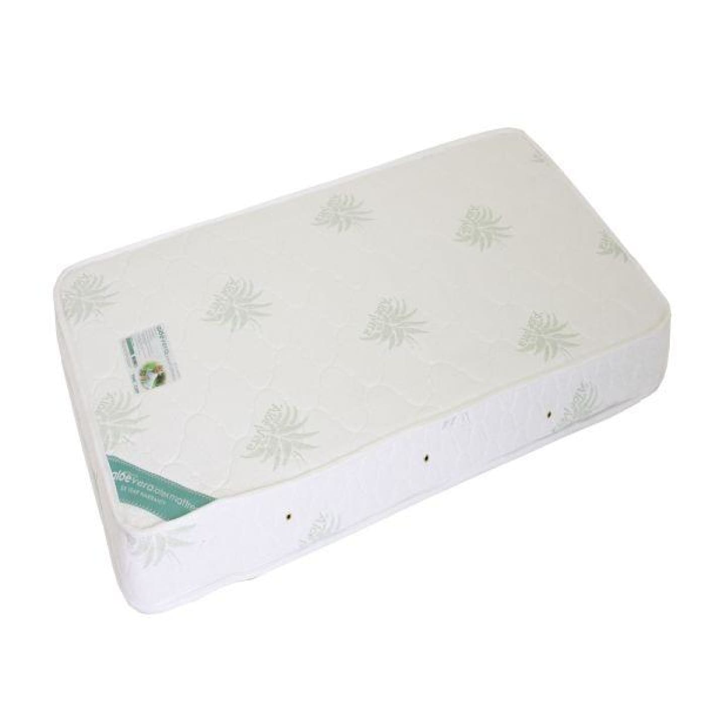 Love N Care Aloe Vera Organic Latex Cot Mattress 130X69CM - 130x69cm - NURSERY & BEDTIME - COT MATTRESSES