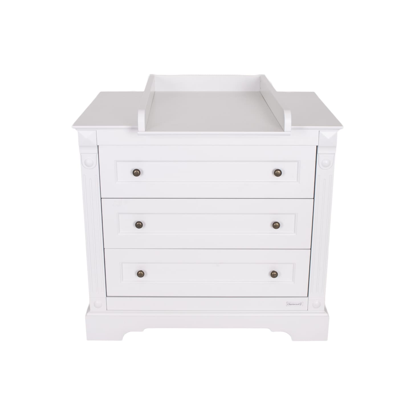 Love N Care Emilia Chest - White - NURSERY & BEDTIME - CHESTS/DRESSERS/TALLBOYS