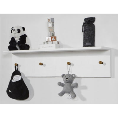 Love N Care Fjord Wall Shelf - White - NURSERY & BEDTIME - TOY BOXES/WALL SHELVES