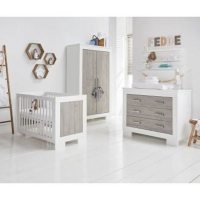 Love N Care Lucca Wallshelf - White/Ash - NURSERY & BEDTIME - TOY BOXES/WALL SHELVES