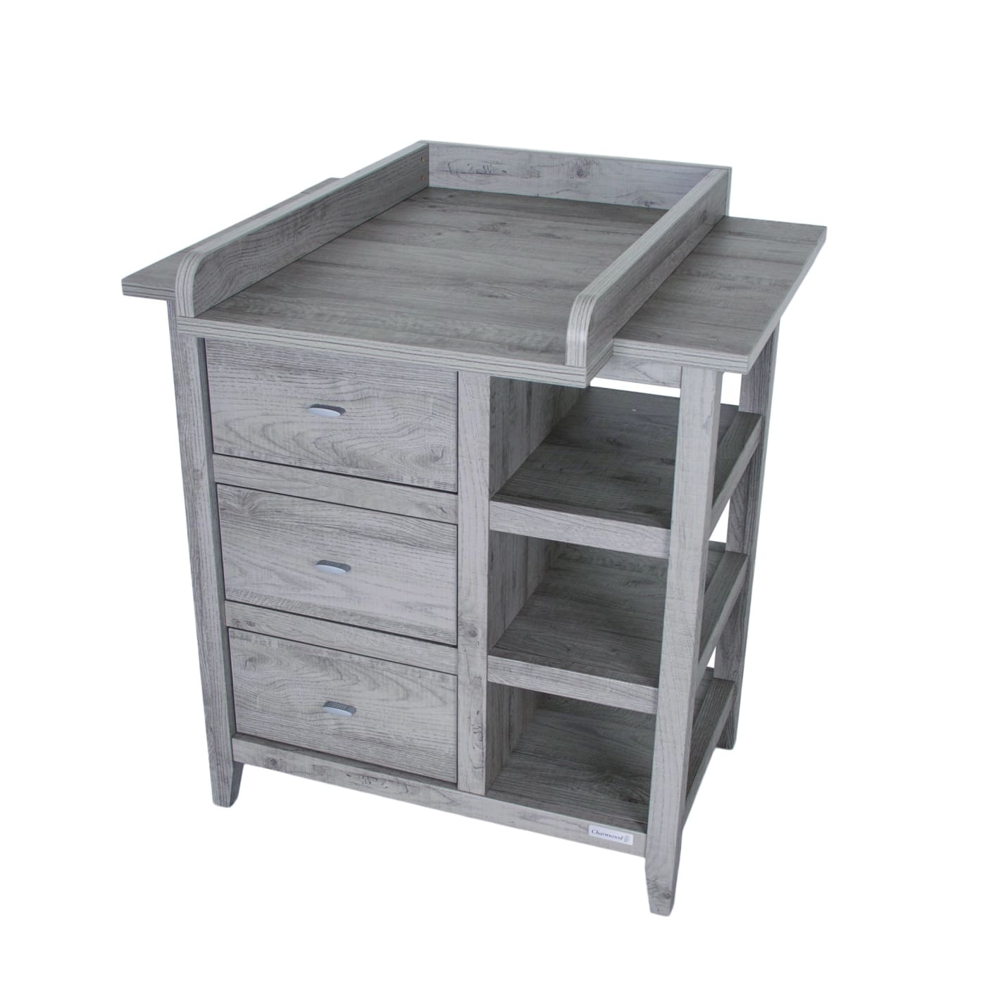 Love N Care Lyon Chest - Dark Grey - NURSERY & BEDTIME - CHESTS/DRESSERS/TALLBOYS