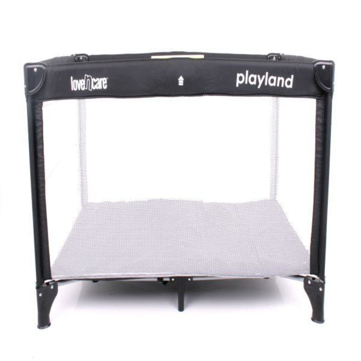 Love N Care Playland Travel Cot - Nero - ON THE GO - PORTACOTS/ACCESSORIES
