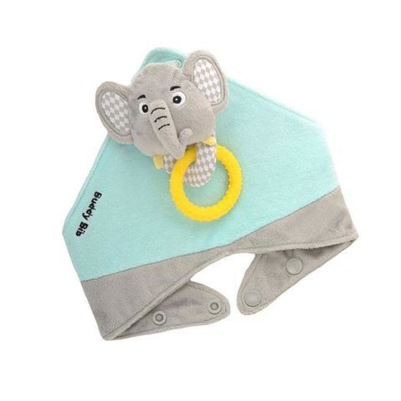 Malarkey Kids Buddy Bib - Elephant - NURSING & FEEDING - BIBS/BURP CLOTHS