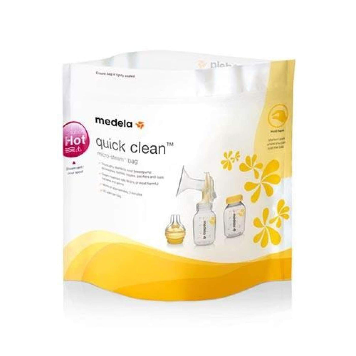 Medela Quick Clean Microwave Bags 5PK - NURSING & FEEDING - STERILISERS/CLEANERS