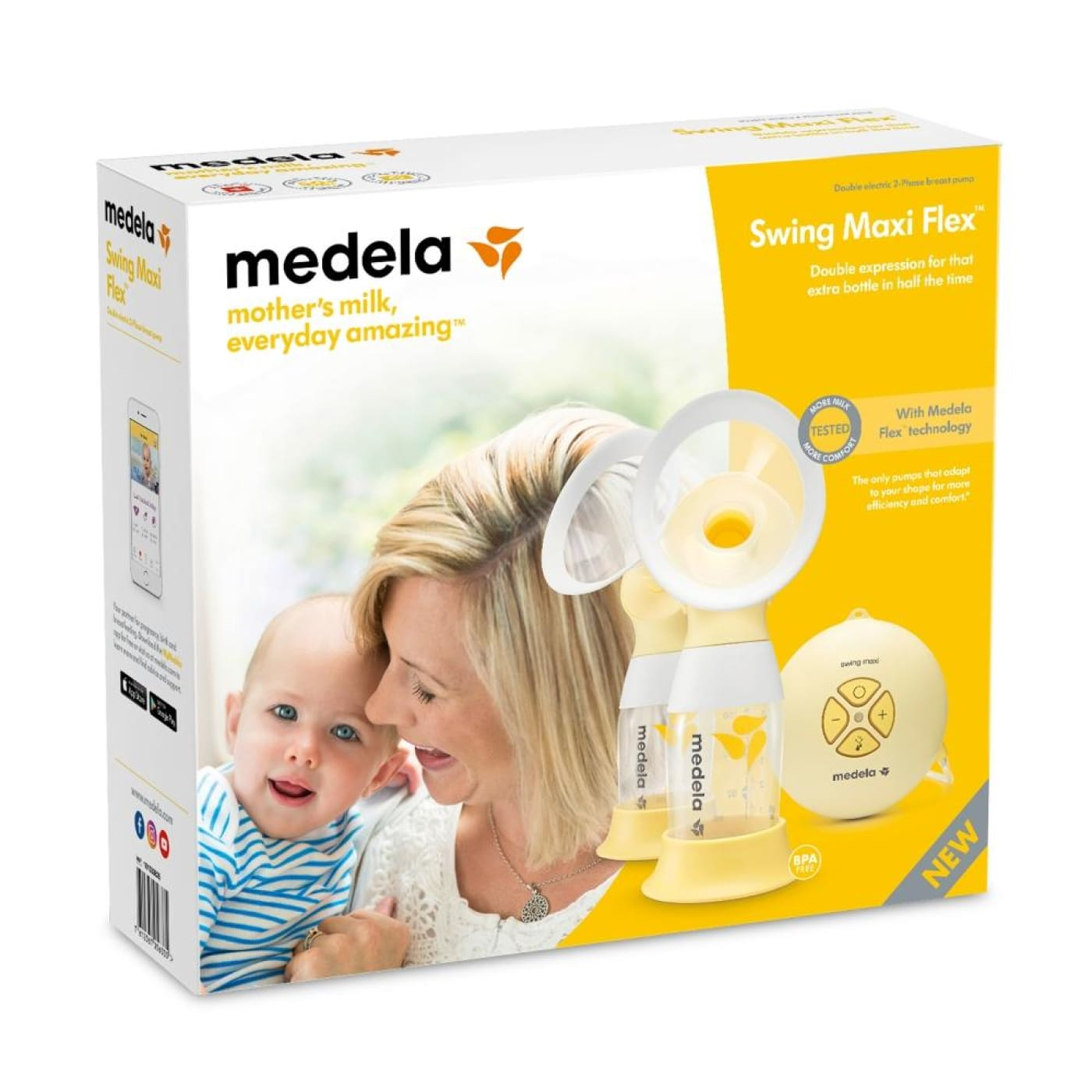 Medela Swing Maxi Flex Double Electric Breastpump (2-phase) - NURSING & FEEDING - BREAST PUMPS/ACCESSORIES