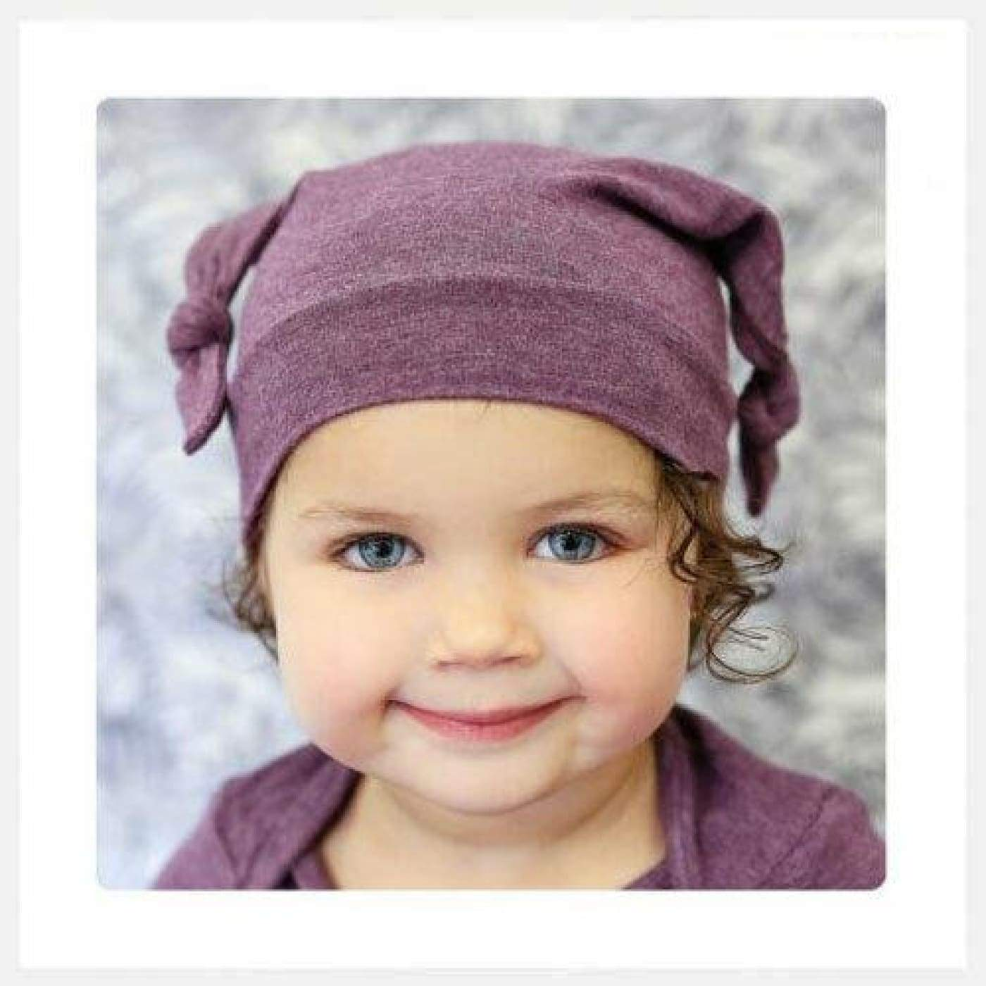 Mod Swad Bamboo Knot Beanie - Shangri la - Small - Small / Shangri la - BABY & TODDLER CLOTHING - BEANIES/HATS