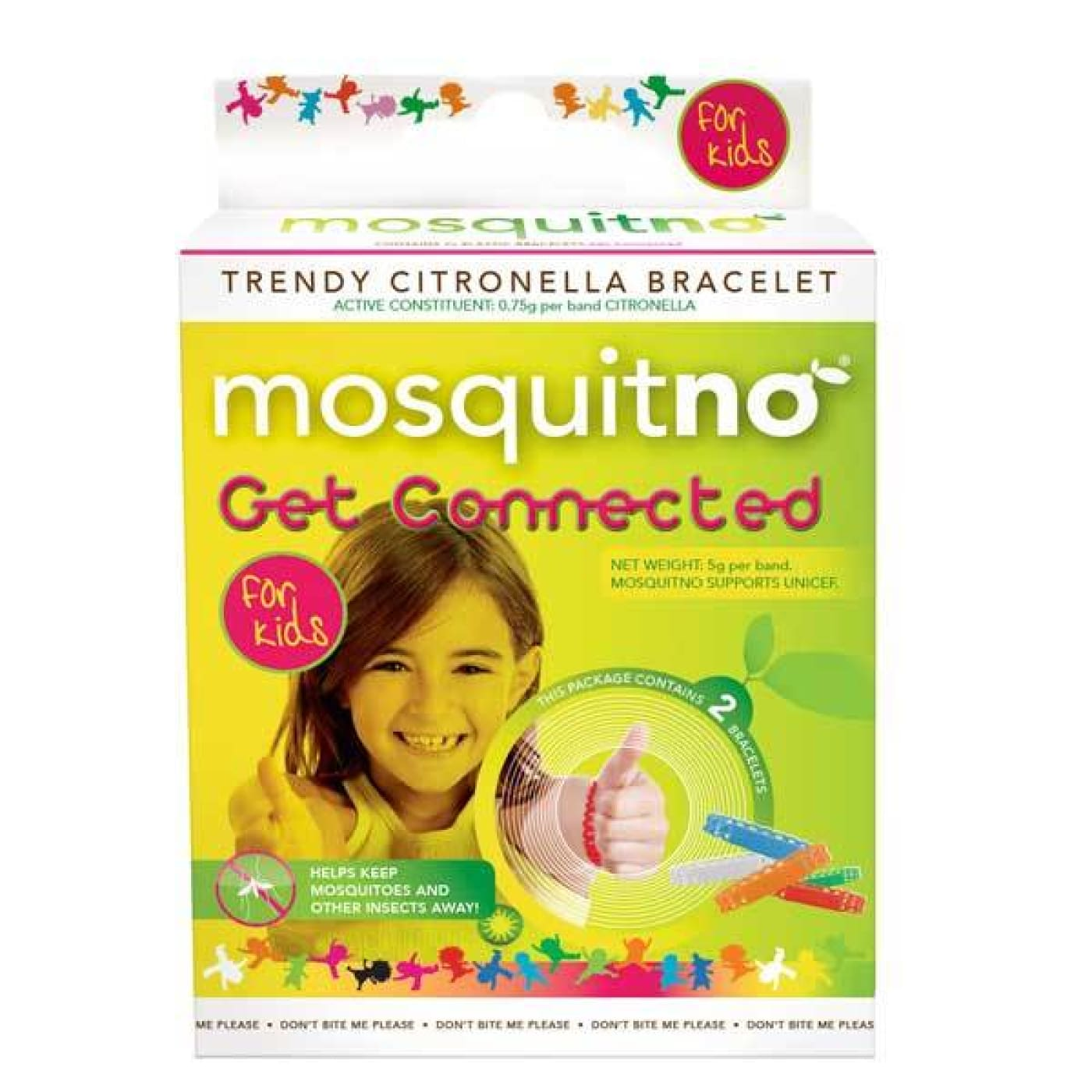 Mosquito-No - Assorted Colours - Assorted - ON THE GO - INSECT REPELLENT