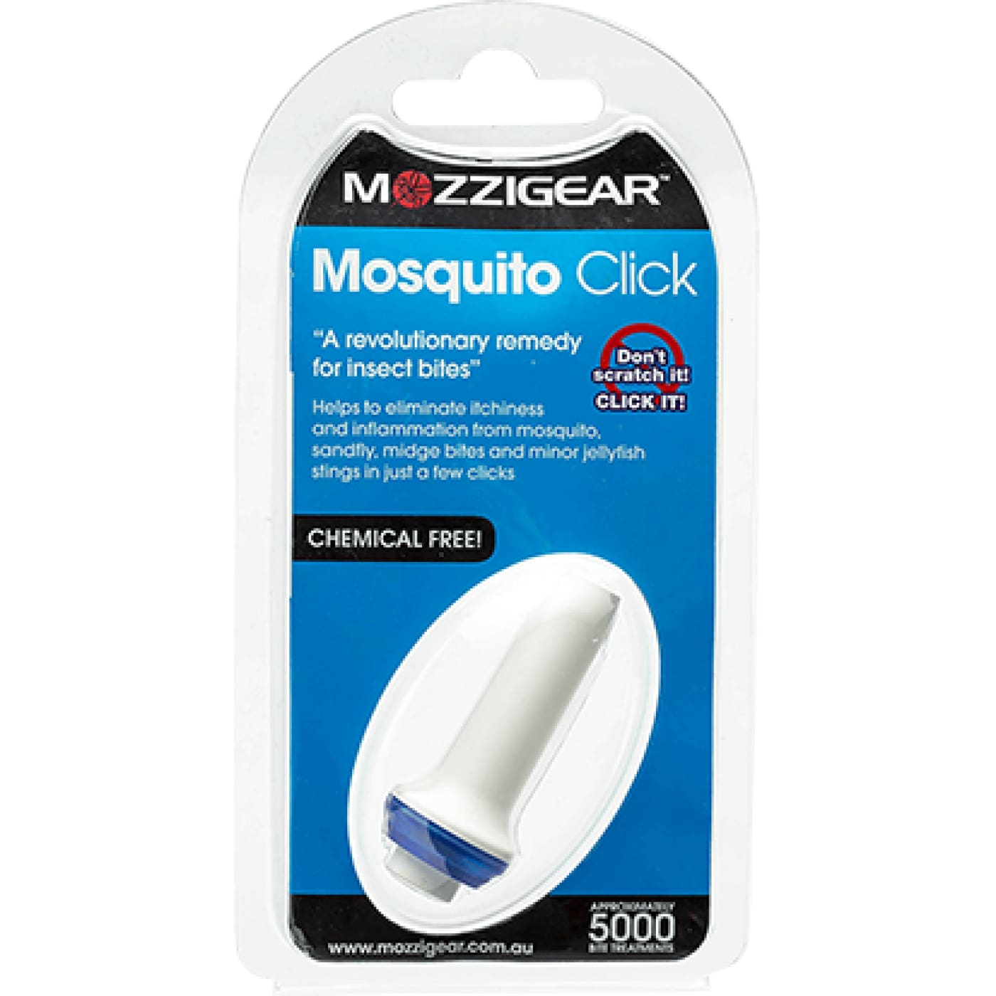 Mozzi Gear Mosquito Click - ON THE GO - INSECT REPELLENT