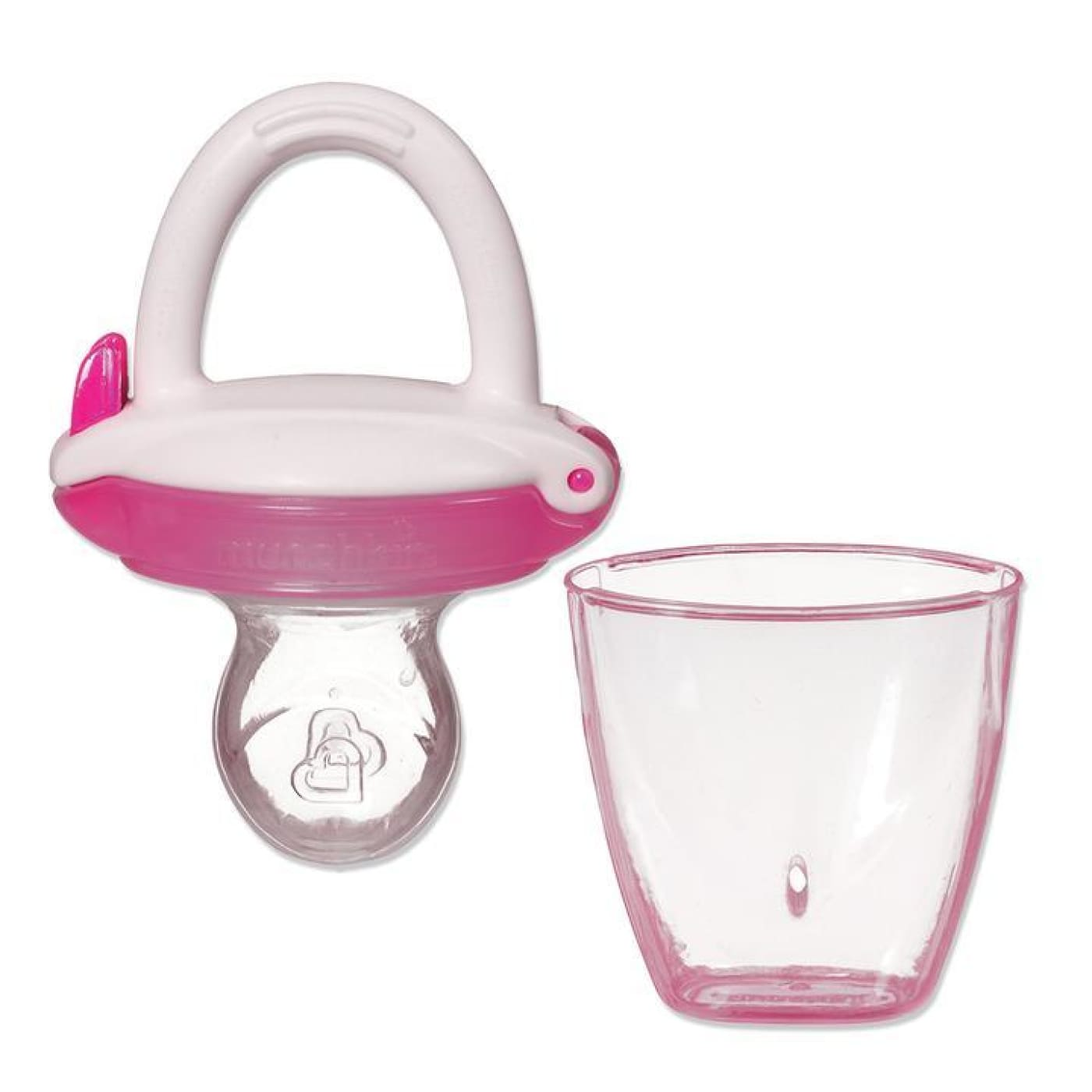 Munchkin Baby Food Feeder - Pink - Pink - NURSING & FEEDING - CONTAINERS/FEEDERS