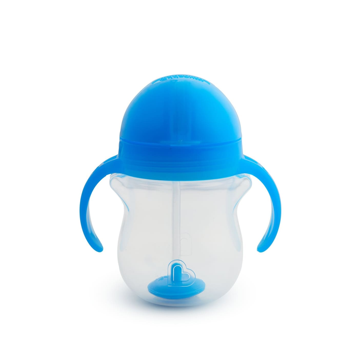 Munchkin Click Lock Weighted Flexi-Straw Cup - Blue - NURSING & FEEDING - CUPS/DRINK BOTTLES