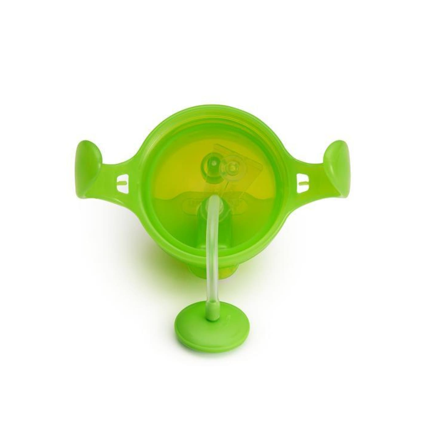 Munchkin Click Lock Weighted Flexi-Straw Cup - Green - NURSING & FEEDING - CUPS/DRINK BOTTLES