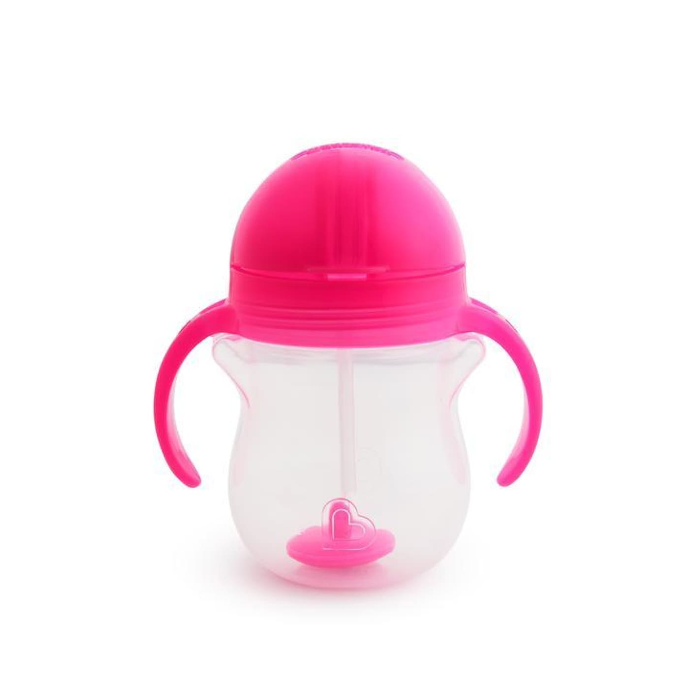 Munchkin Click Lock Weighted Flexi-Straw Cup - Pink - NURSING & FEEDING - CUPS/DRINK BOTTLES