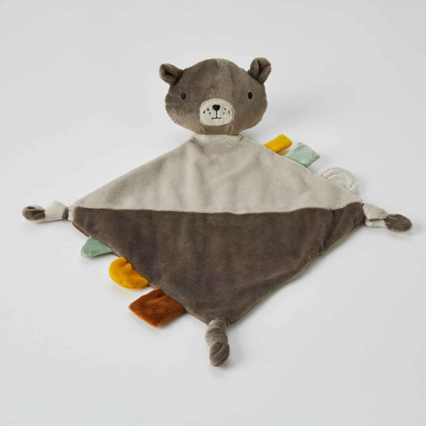 Nordic Kids Comforter Soother - Bailey Bear - 23cm / Bear - TOYS & PLAY - BLANKIES/COMFORTERS/RATTLES