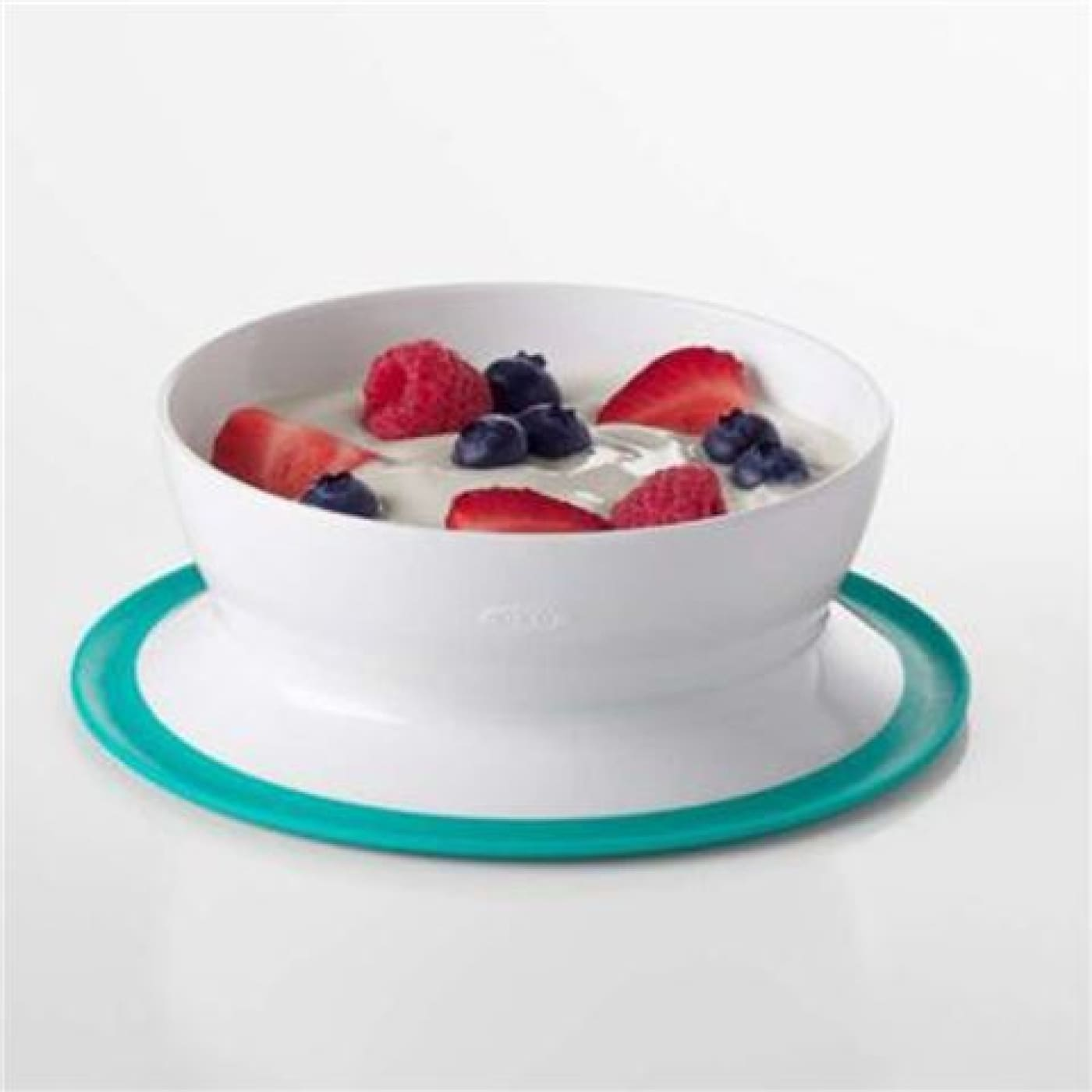 Oxo Tot Stick & Stay Suction Bowl - Teal - Teal - NURSING & FEEDING - CUTLERY/PLATES/BOWLS/TOYS
