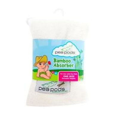Pea Pods Bamboo Absorber - BATHTIME & CHANGING - NAPPIES/WIPES/ACC ECO RANGE