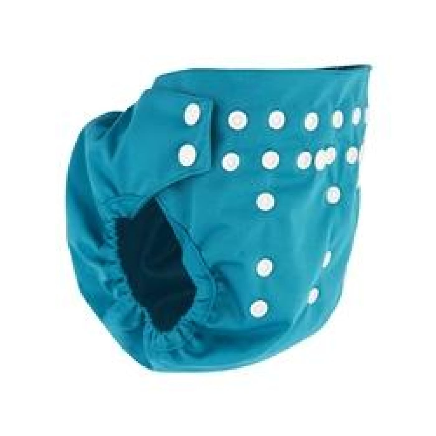 Pea Pods Pilcher Nappy Cover - Aqua Blue - BATHTIME & CHANGING - NAPPIES/WIPES/ACC ECO RANGE