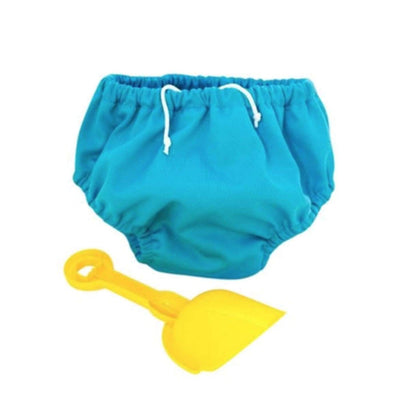 Pea Pods Swimmers Small - Aqua Blue - BABY & TODDLER CLOTHING - SWIMMERS/ACCESSORIES