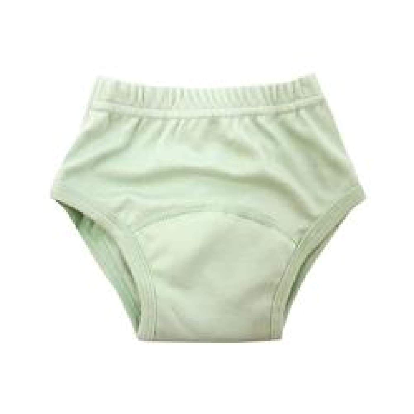 Pea Pods Training Pants Medium - Pea Green - BATHTIME & CHANGING - NAPPIES/WIPES/ACC ECO RANGE