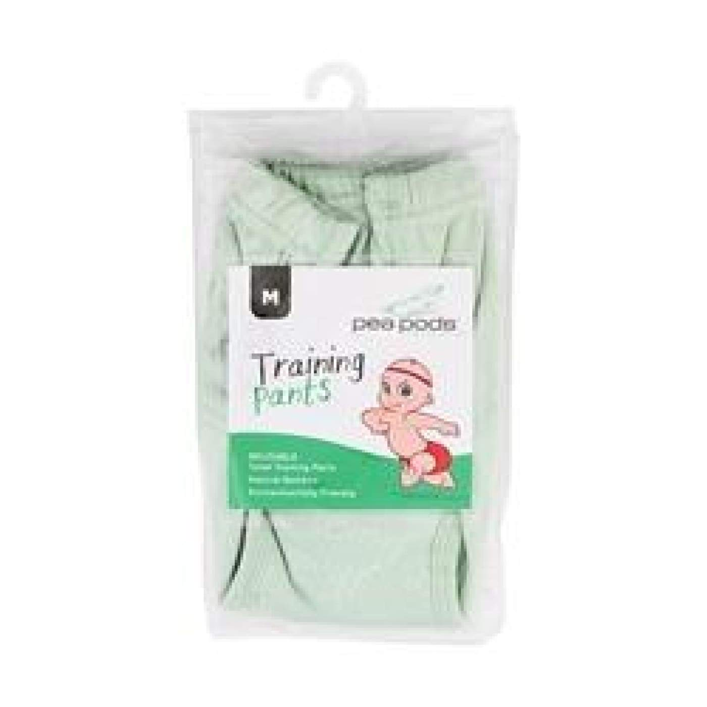 Pea Pods Training Pants Small - Pea Green - BATHTIME & CHANGING - NAPPIES/WIPES/ACC ECO RANGE