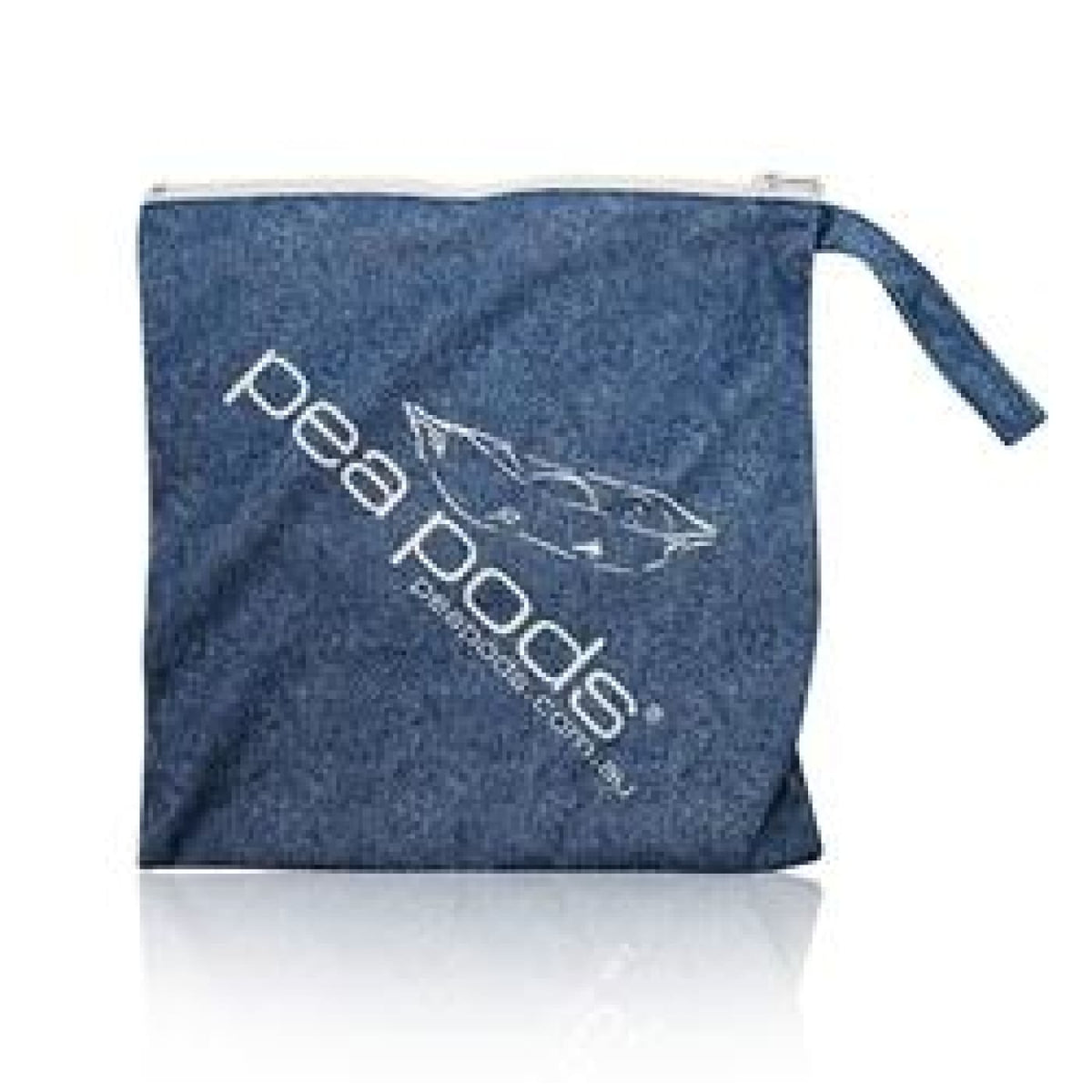 Pea Pods Wet Bag - Travel Denim - BATHTIME & CHANGING - NAPPIES/WIPES/ACC ECO RANGE