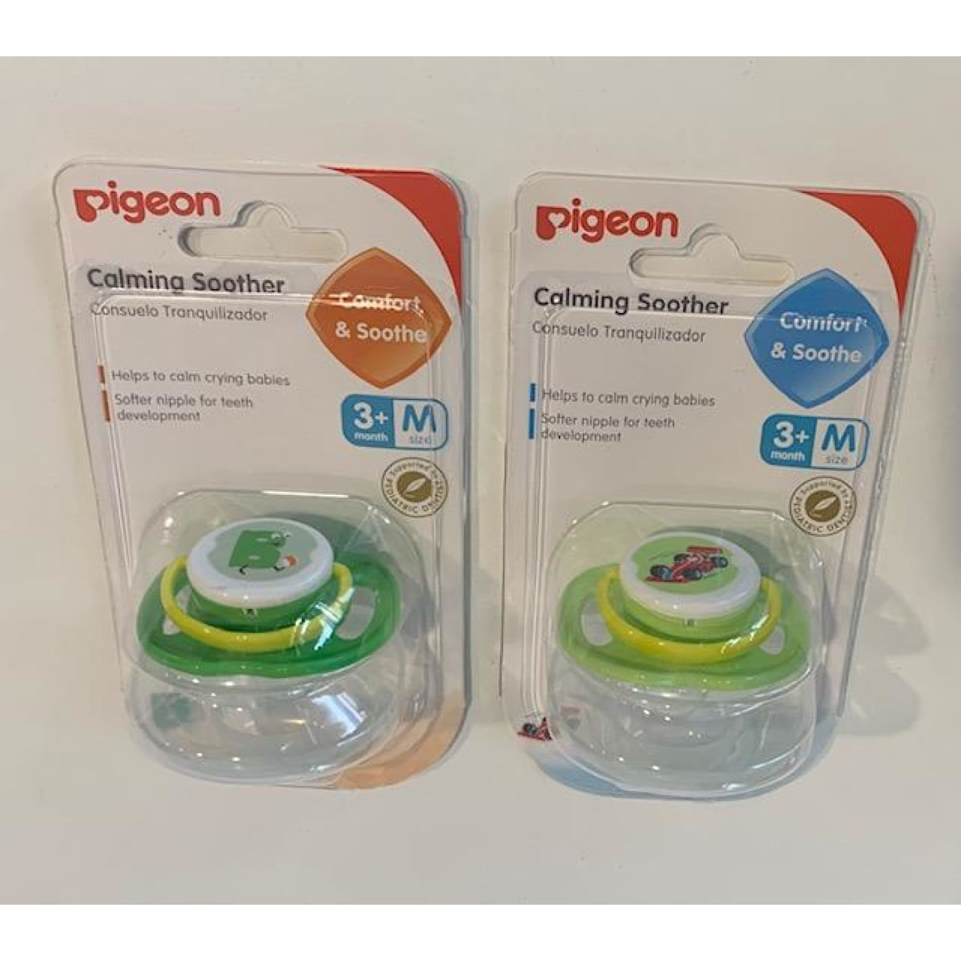 Pigeon Calming Soother - Medium - M - NURSING & FEEDING - DUMMIES/SOOTHERS/CLIPS