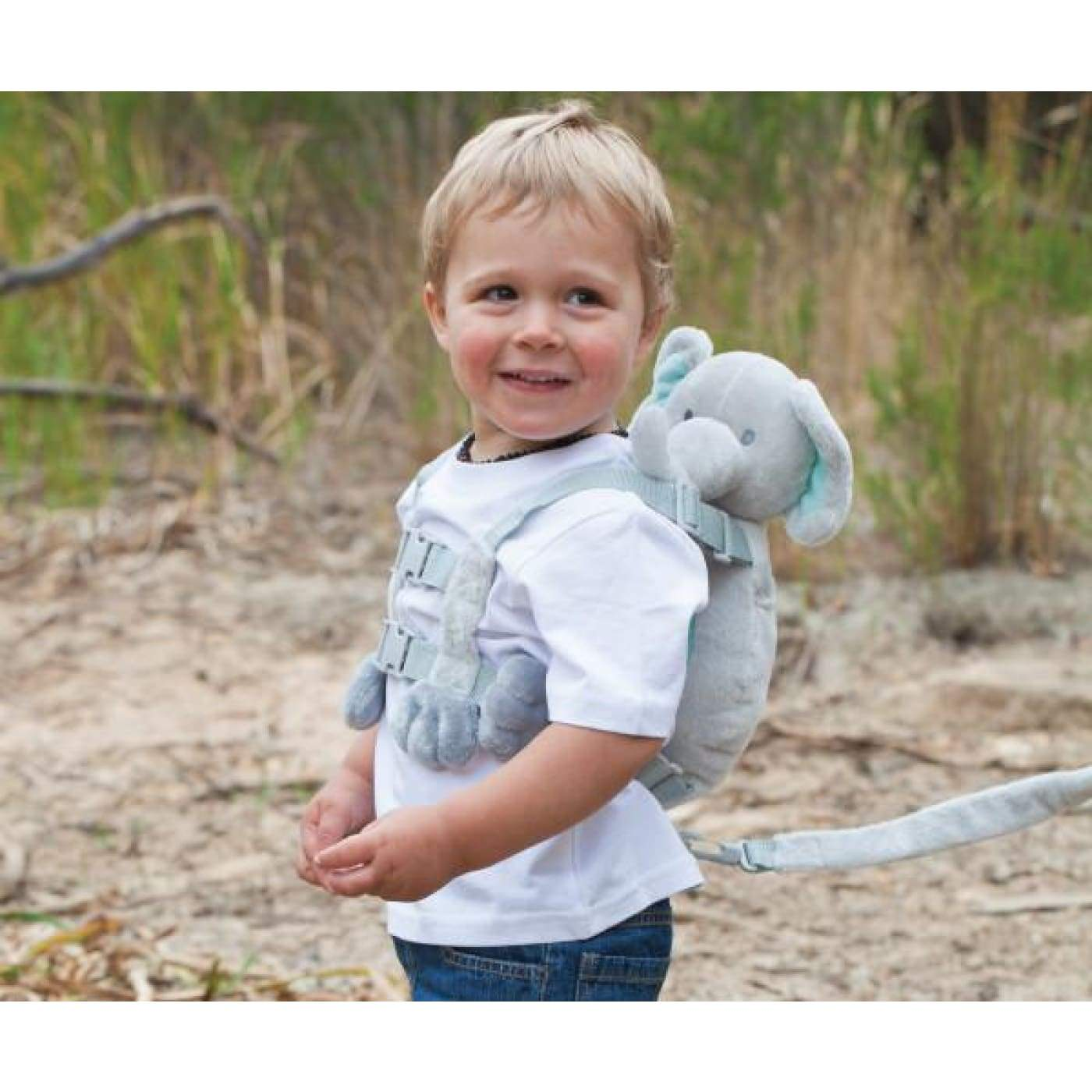 Playette 2 in 1 Harness Buddy - Fluffy Puppy - ON THE GO - SAFETY HARNESSES