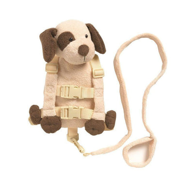 Playette 2 in 1 Harness Buddy - Tan Puppy - ON THE GO - SAFETY HARNESSES