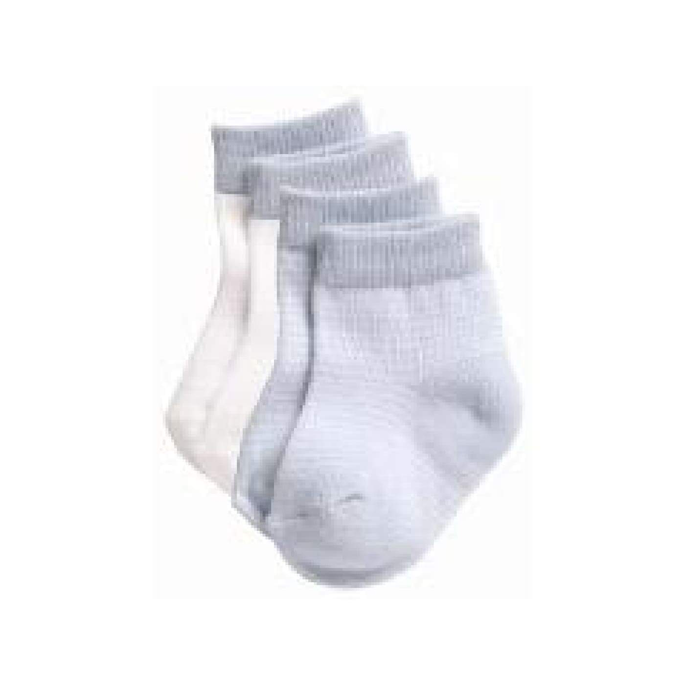 Playette Preemie Fashion Socks - Blue/White 3PK - BABY & TODDLER CLOTHING - MITTENS/SOCKS/SHOES