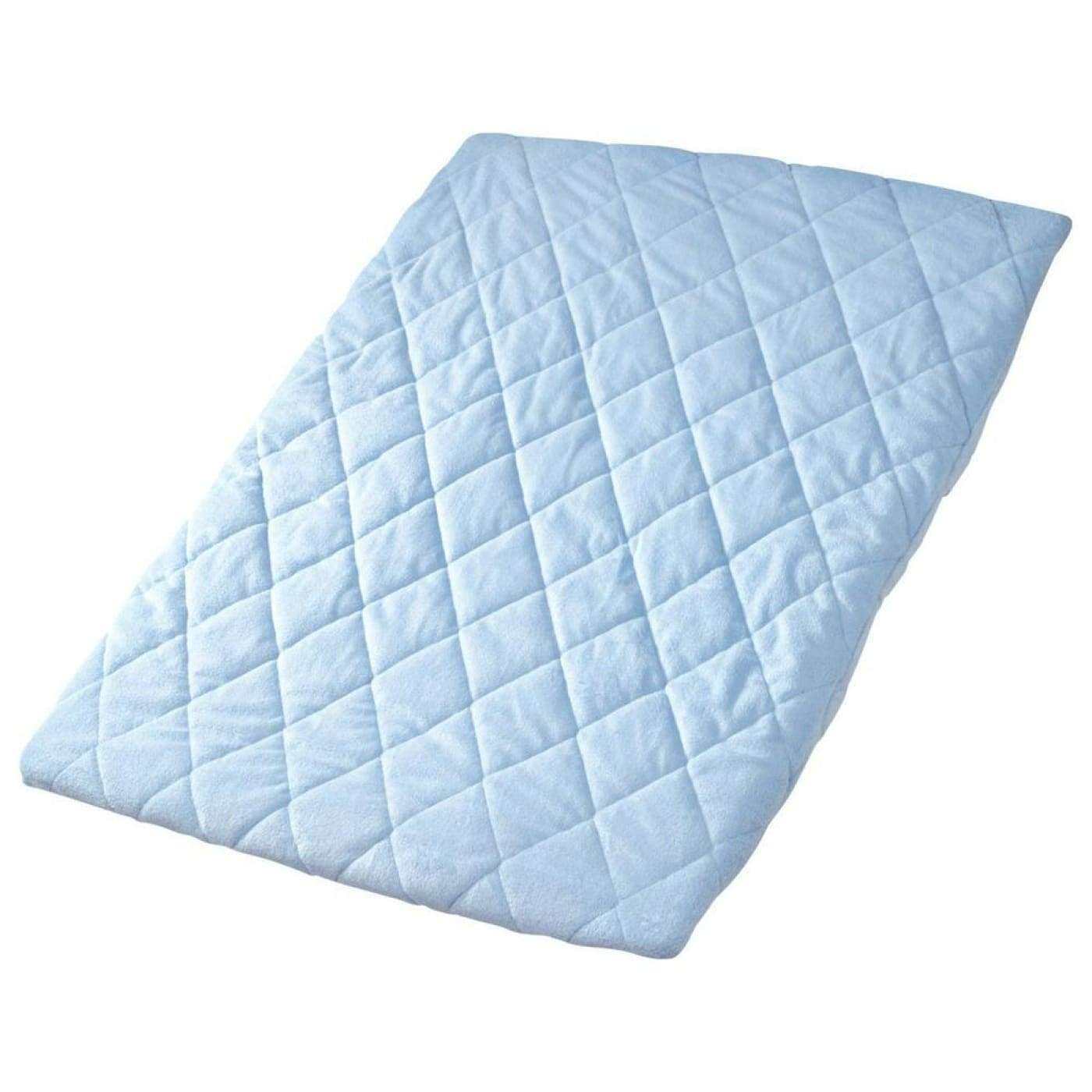Playette Travel Cot Quilted/Padded Sheet - Blue - ON THE GO - PORTACOTS/ACCESSORIES